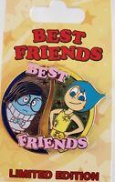"DISNEY PIXAR ""INSIDE OUT""-JOY & SADNESS BEST FRIENDS series JULY PIN-FREE SHPG!"