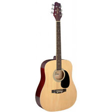 """NEW Stagg SA20D 41"""" Full Size Dreadnought Student Acoustic Guitar - Natural"""