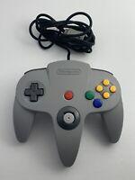 OEM Grey Nintendo N64 Controller Tested Authentic Original