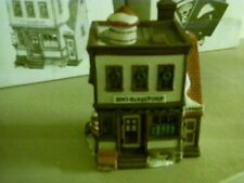 "Dept. 56 New England Village Series ""Ben's Barber Shop"" #5939-0"