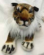 "REALISTIC 19"" Plush/Stuffed ""BENGAL TIGER"" Rhode Island Novelty Toy/Animal"