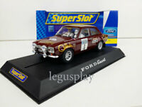 "Slot car Scalextric Superslot H2757 Ford Escort RS 1600 #1 ""Timo Makinen"""