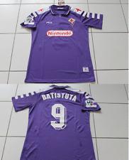 Fiorentina Batistuta shirt 1998 Maillot Italie Football Large Retro Argentine