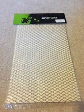 Gold Aluminium Mesh A4 20x30cm Intake Airflow Protection Grill MX Motorbike Car