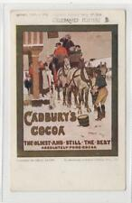 CADBURY'S COCOA: Celebrated Posters advertising postcard (C29895)