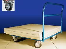 Mattenwagen mit Schiebebügel 100x100 cm Mattentransportwagen Judo,Aikido,Turnen