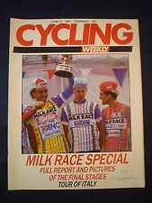 Vintage - Cycling Weekly  - 4 June 1987 - Birthday gift for the Cyclist