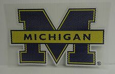 6-Inch Michigan Wolverines Logo Perforated Vinyl Window Graphic