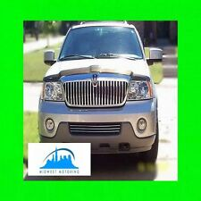 2003-2004 LINCOLN NAVIGATOR CHROME TRIM FOR LOWER GRILL GRILLE 03 04