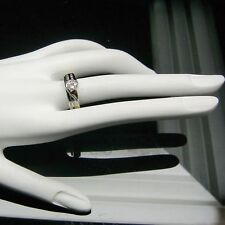 DIAMOND WRAP ENHANCER RING IN 14K WHITE GOLD RETAIL $899