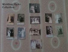 Victoriano Casa De Muñecas Miniaturas REPRO 1/12th fotos de retratos de boda hecho a mano