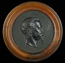 Medallón Rey deItalia Victor Emmanuel Re Italia Vittorio Emanuel King XIX 16cm