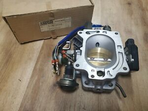 NOS NEW 86 87 88 Nissan TRUCK D21  HARDBODY Throttle Body Chamber 2.4L  Z24 AT
