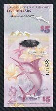 Banconota 5 Five Dollars  Bermuda    FDS