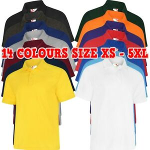 UNEEK Deluxe Poloshirt Knitted Collar 220gsm Men Workwear Casual Polo TOP XS-8XL