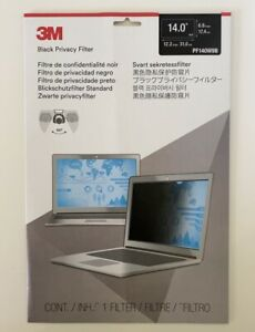 "3M Privacy Filter 14"" Widescreen Laptop Filter PF140W9B"