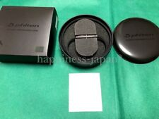 Phiten Necklace RAKUWA Neck X100 Carbon Black 50cm Titanium Unisex Japan New