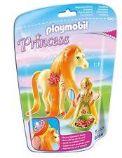 PLAYMOBIL 6168 - Princess Sunny; Pferd, richtiges Kämmen, Sonnen-Haarclips