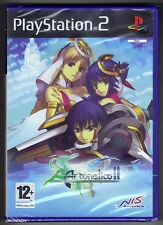 PS2 Ar Tonelico II Melody of Metafalica, UK Pal, Brand New & Sony Factory Sealed