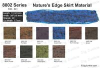 SILICONE SKIRT TABS/MATERIAL - 8802 Nature's Edge Series.