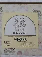 "1982 Precious Moments ""Holy Smokes"" Figurine #E-2351 in Original Box"