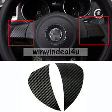 Carbon Fibre Steering Wheel Trim Sticker For VW GOLF JETTA MK6 NEW POLO