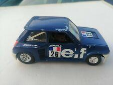 Renault 5 Turbo Elf 26 Ragnotti 1 24 Bburago Burago diecast 0160 auto automobile