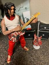 "1998 RARE 12"" EDDIE VAN HALEN FULLY POSABLE ACTION FIGURE/ DENIED/JAPAN,XTRAS"