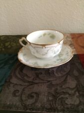 Haviland and Co Limoges France Cup and Saucer Set
