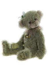 """Shamrock Mohair Teddy Bear by Charlie Bears - 11"""" SJ5948C"""