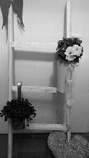 Holz*Leiter *Deko-Leiter* Shabby Chic weiß 100 cm Holz