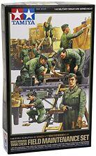 Tamiya 32547 1/48 scale  WWII German Tank Crew Field Maintenance Set from Japan