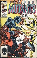 Marvel The New Mutants 53 July 1987 Seduced And Abandoned Claremont