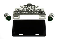 World's Fair License Plate Topper Kit For Harley-Davidson