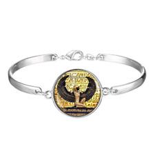 Egyptian Art Cabochon silver Glass bracelet jewelry Bracelet ancient egypt
