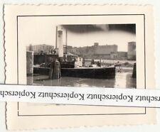 Foto Oder Boot wohl Brieg Brzeg Schlesien polska 2 Wk WW2