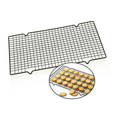 1pc Carbon Steel Non-stick Cooling Rack Cooling Grid Baking Tray For Biscuit ZC
