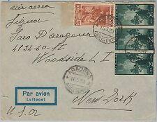 47447 - ITALIA REPUBBLICA - Storia Postale: LAVORO + DEMOCRATICA su BUSTA 1951