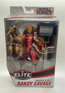 WWE ELITE ROYAL RUMBLE MACHO KING RANDY SAVAGE FIGURE TARGET EXCLUSIVE 1991 WWF
