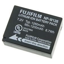 Fujifilm NP-W126 Battery HS30 HS33 X-Pro X100F T1 X-T10 X-A1 X-M1 X-A2 X-A3
