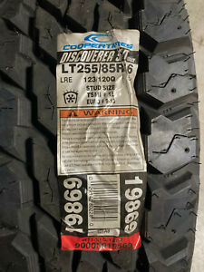 1 New LT 255 85 16 LRE 10 Ply Cooper Discoverer S/T Maxx Mud Tire