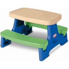 Tikes Easy Store Little Table Jr Picnic Play Large Slide Kids