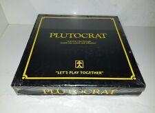 PLUTOCRAT Finance Board Game Australian 1991