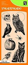 Inkadinkado Clear Stamps - Creatures of the Night (60-31290) #589 -NEW!!