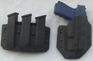 Fits a Glock 17/22 Gen 5 Holster/Magazine pouch combo