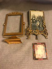 2 Small Antique Victorian Picture Frames 1 Micro Mosiac Italy Frame 3 Total