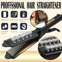 Professional Four-gear Ceramic Tourmaline Ionic Flat Iron Hair Straightener