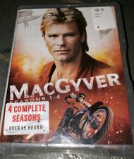MacGyver Seasons 1-4 (Dvd, 2015, 22-Disc Set) Brand New Factory Sealed
