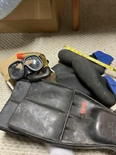 New listing White stag deep goggles snorkel Scuba Diving Gear Used Headgear, boots, fins