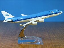 KLM BOEING 747 Passenger Airplane Plane Aircraft Metal Diecast Model Collection